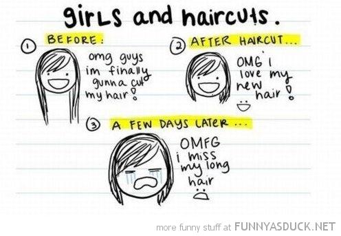 Girls And Haircuts