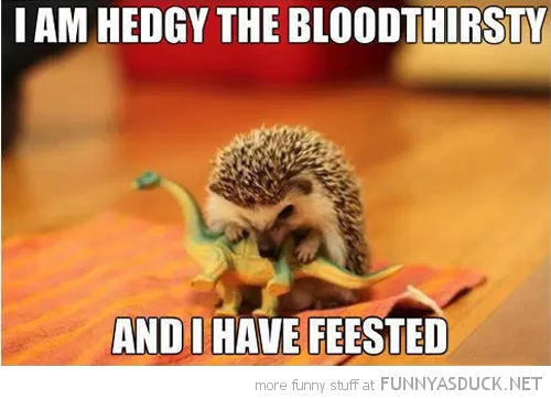 Hedgy The Bloodthirsty