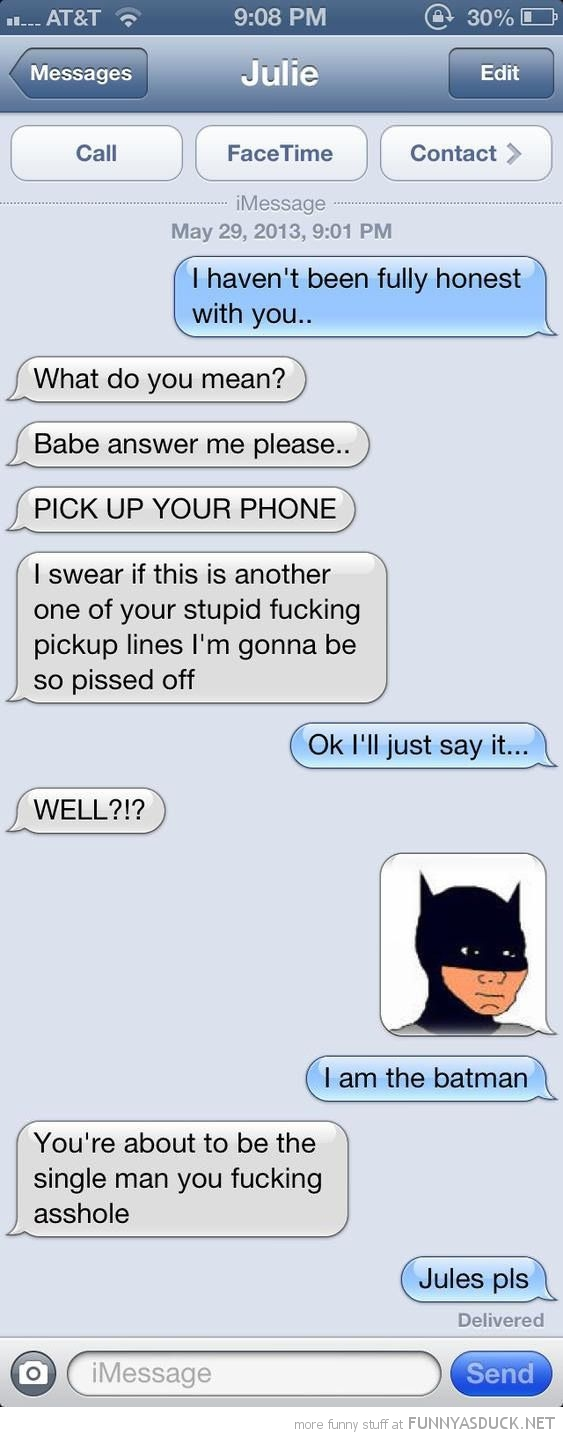 I'm The Batman