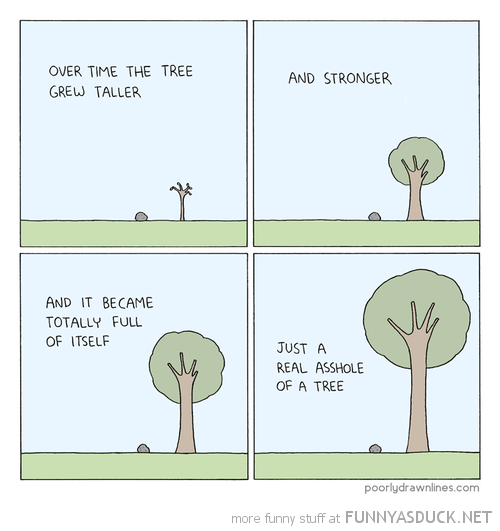 The Tree Grew Taller