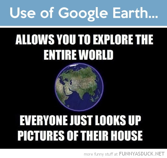 Use Of Google Earth