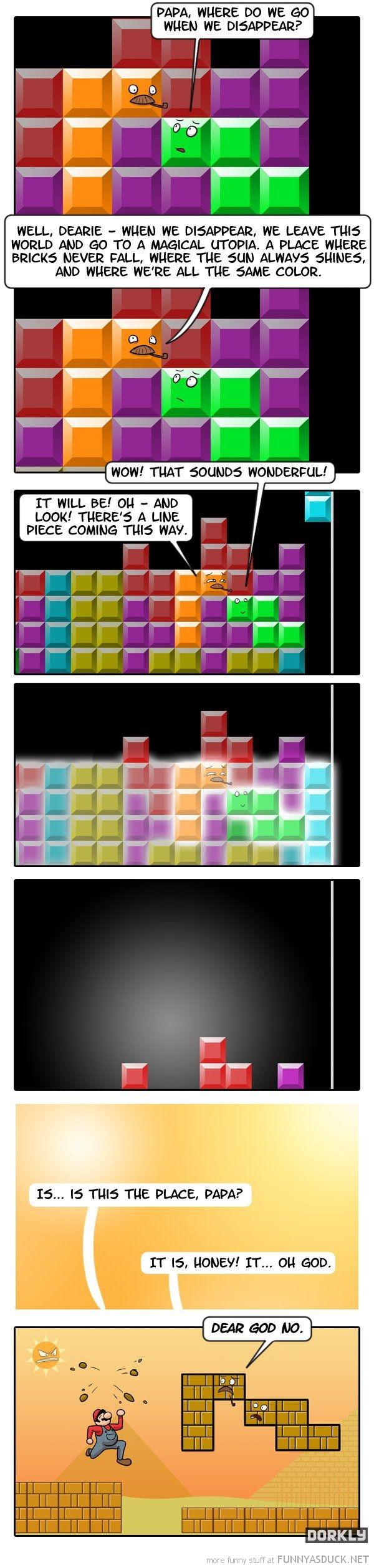 Tetris After Life