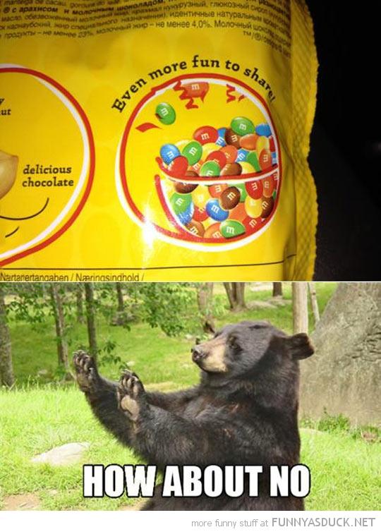 No Share Bear
