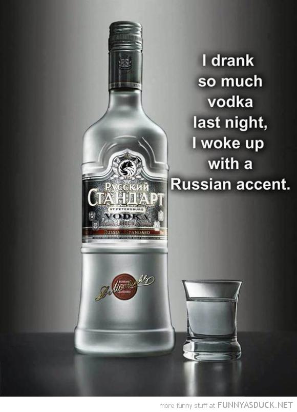 So Much Vodka