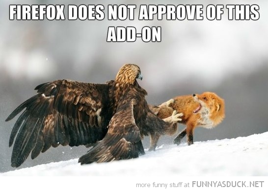 Firefox Does Not Approve