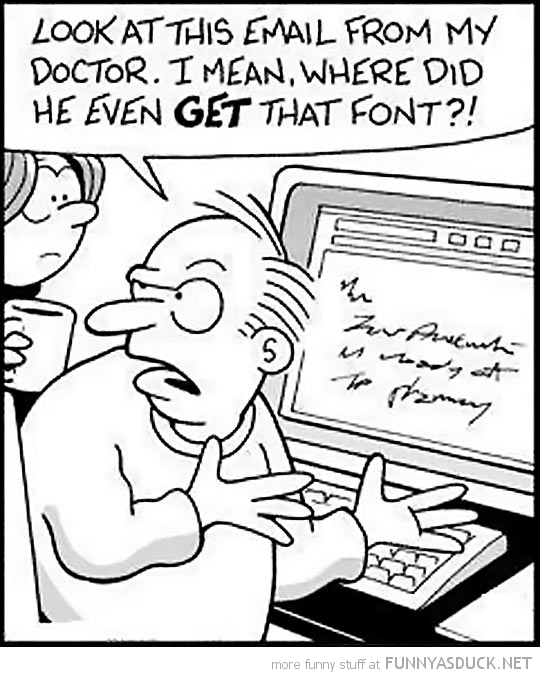 Email From The Doctor