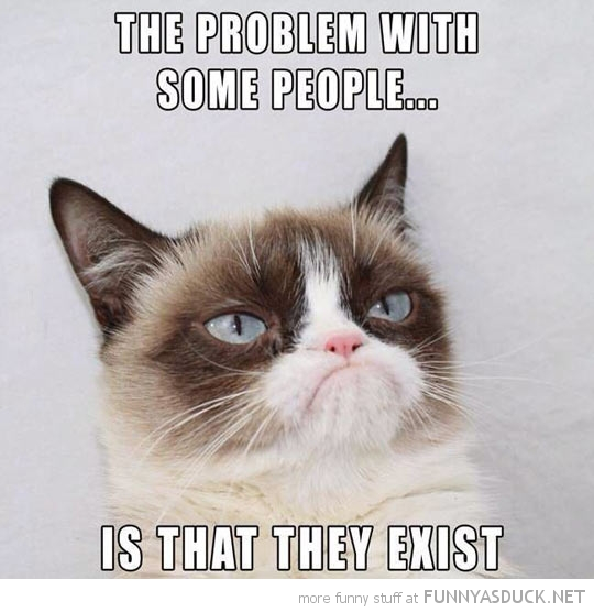 The Problem With Some People...