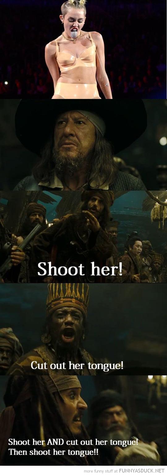 Shoot Her!