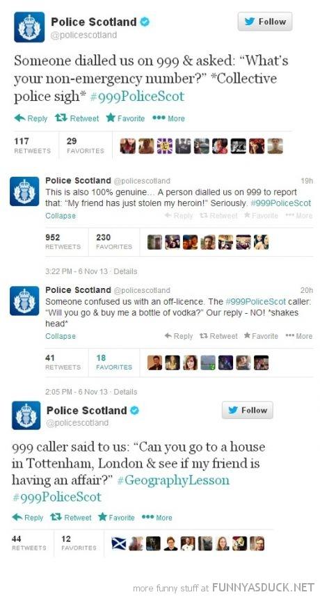 Even The Police In Scotland Are Funny