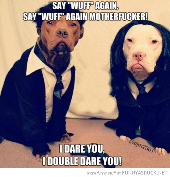Pulp Fiction Dogs