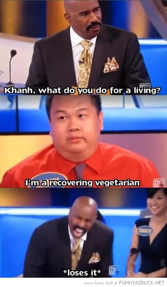 Recovering Vegetarian