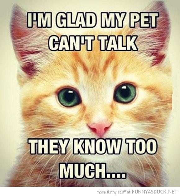 My Pet Can't Talk