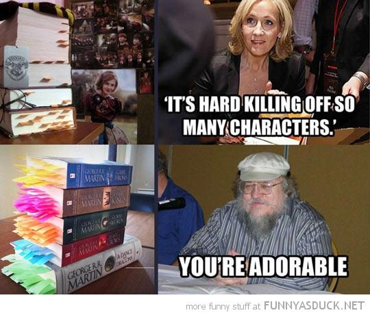 Harry Potter Vs Game Of Thrones