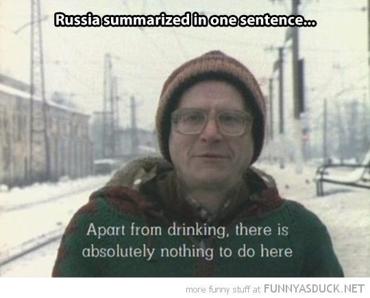 Russia On One Sentence