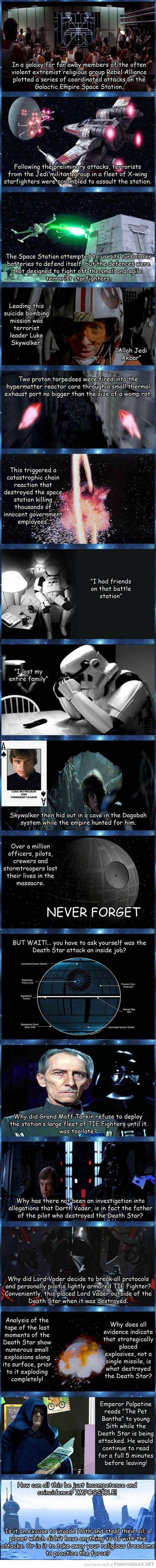The Death Star Was An Inside Job
