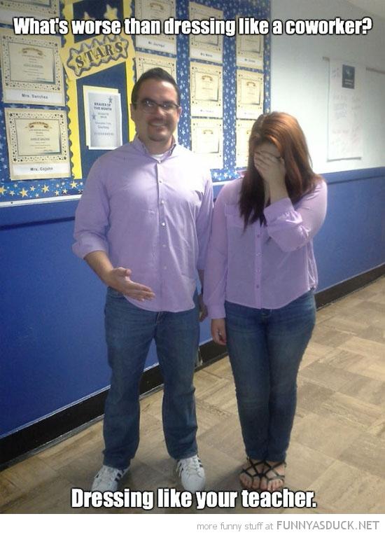 Dressing Like Your Teacher