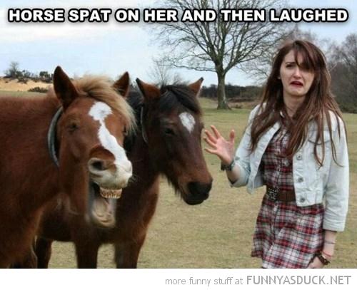 Rude Horse