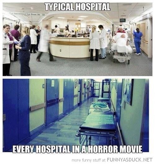 Horror Movie Hospitals