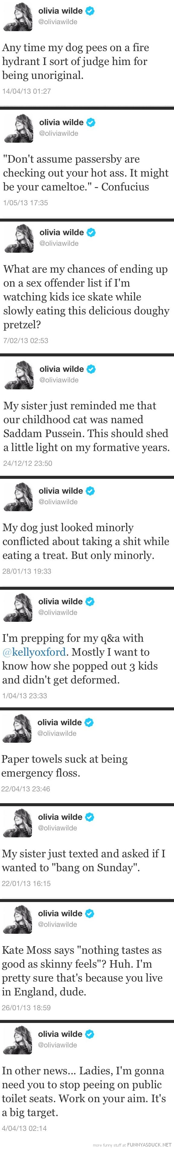 Olivia Wilde Tweets