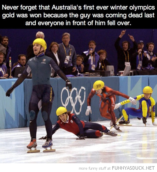 Australia's First Gold Medal