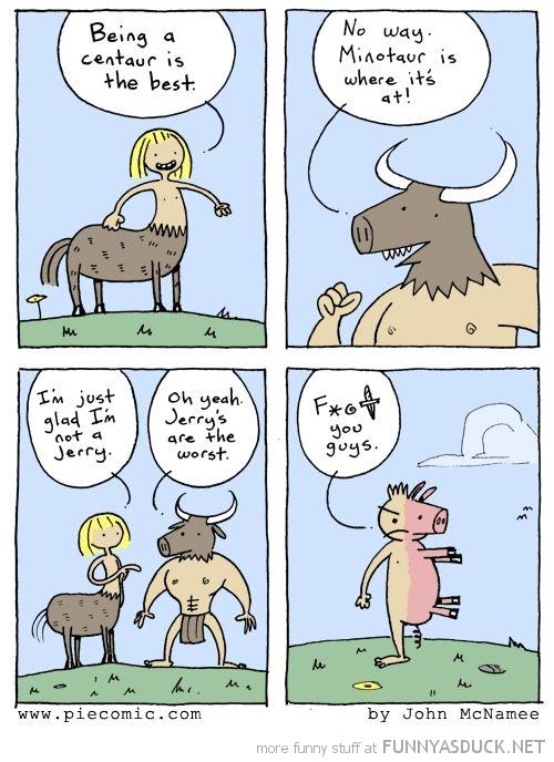 Being A Centaur