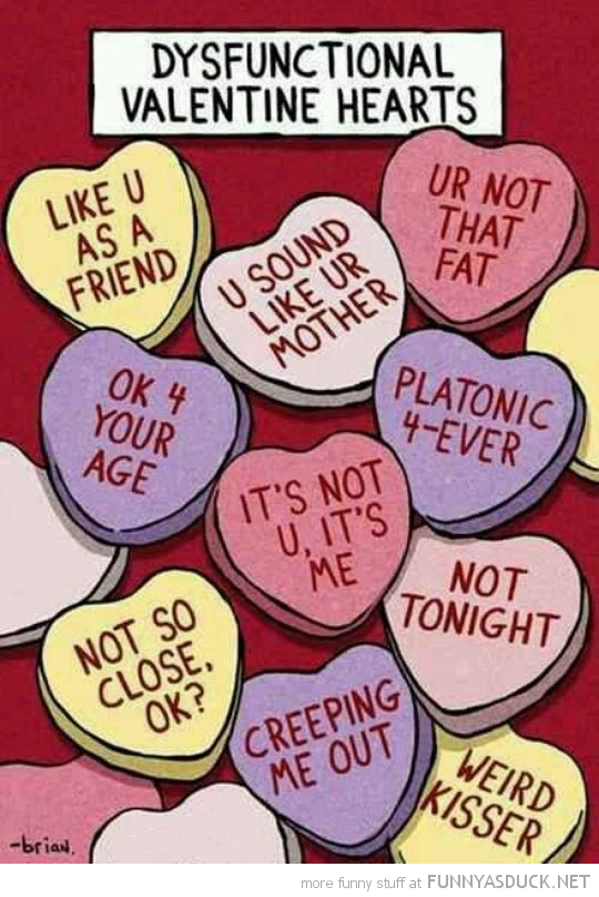 Dysfunctional Valentines Hearts