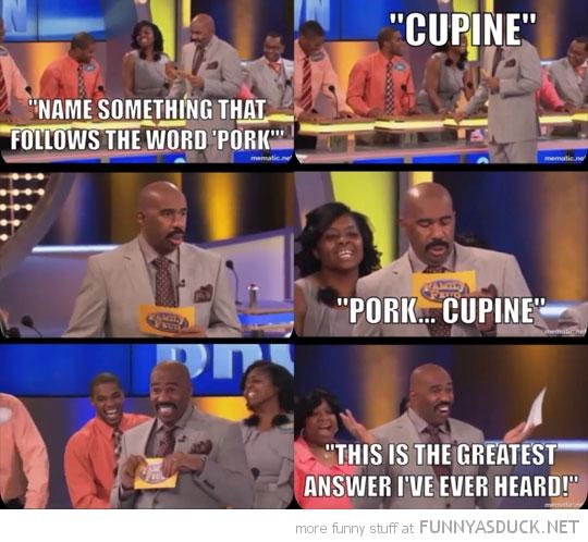 Pork...Cupine