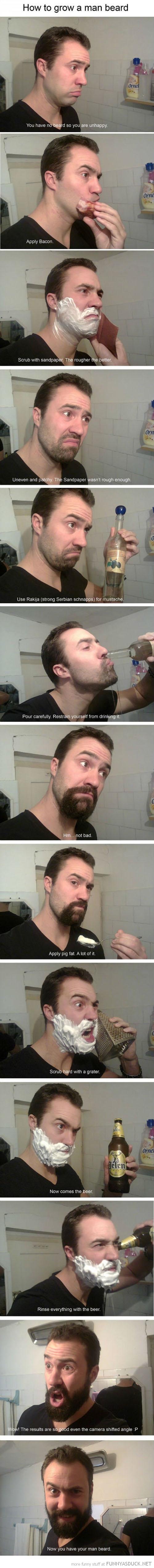 Grow A Man Beard