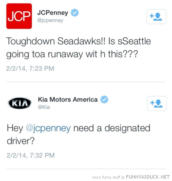 JC Penny Drunk Tweets