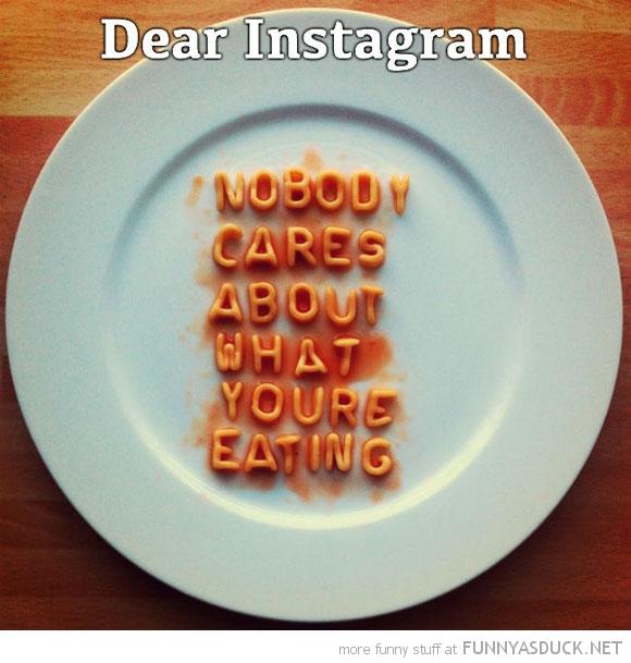 Dear Instagram
