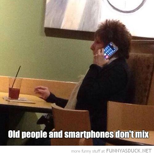Old People & Smartphones
