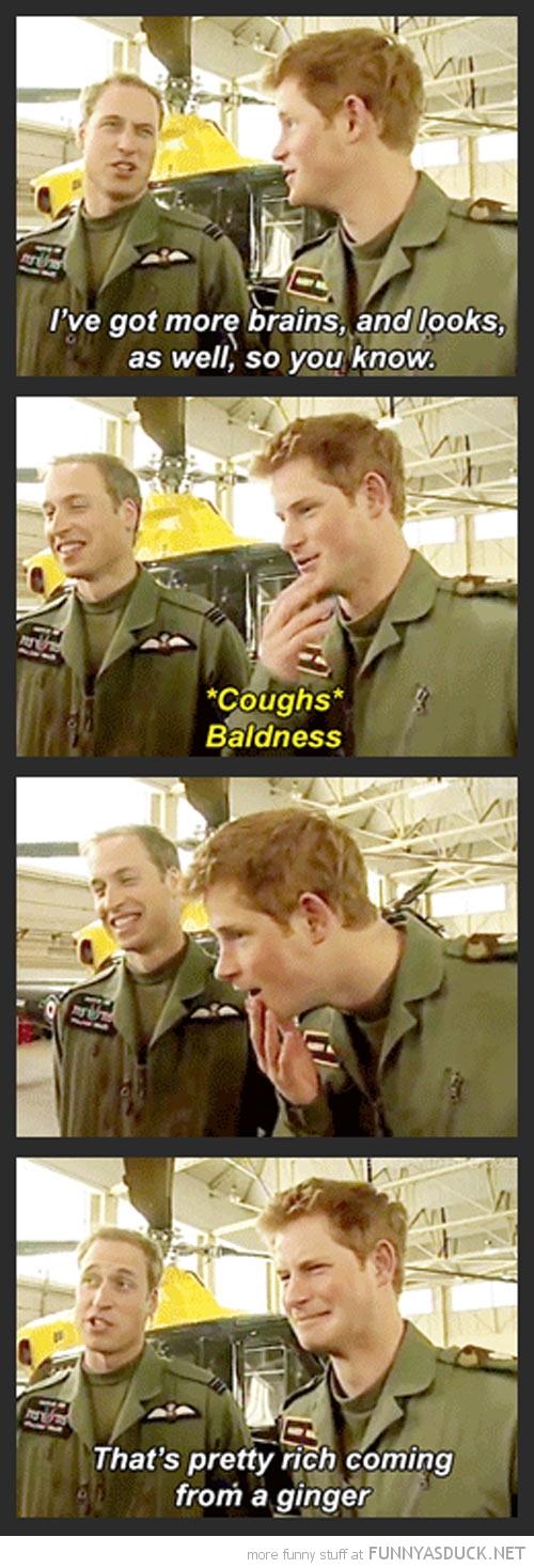 The Princes Talk
