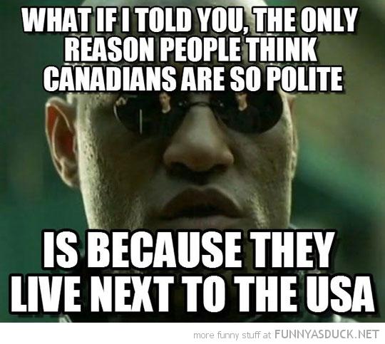 Polite Canadians