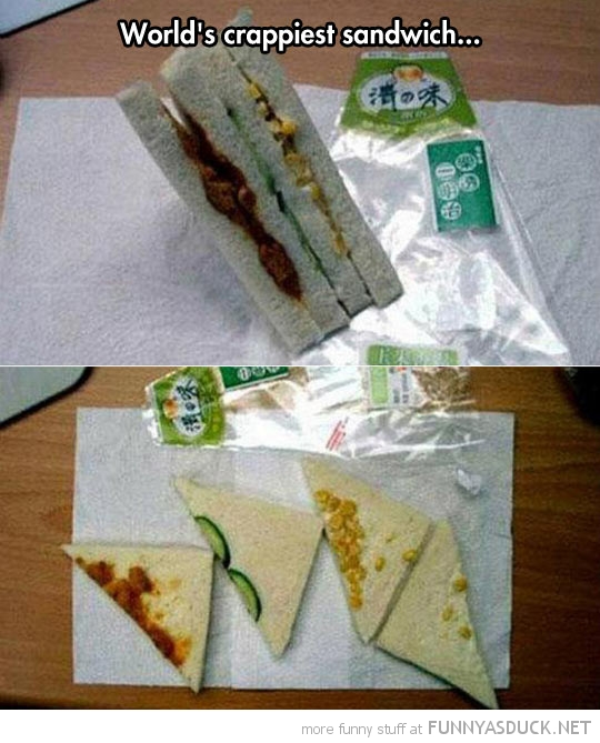 World's Crappiest Sandwich