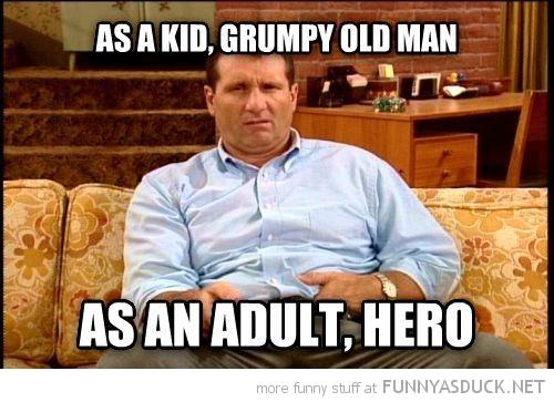 Hero Or Grumpy?