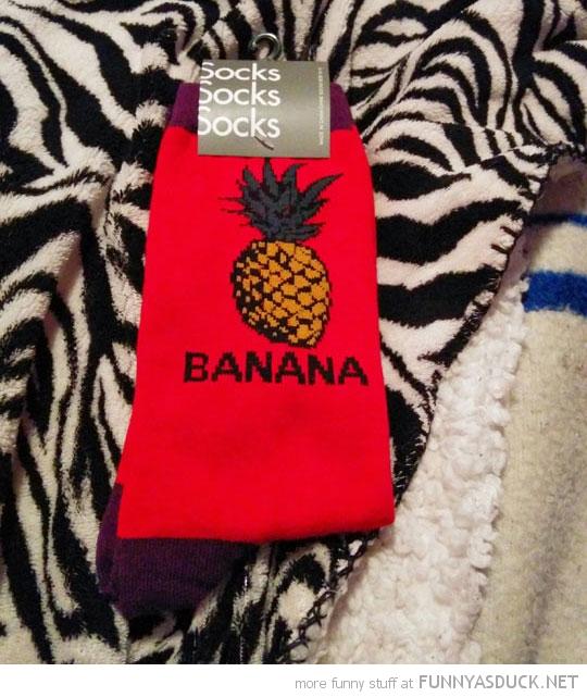 Fruit Sock Fail