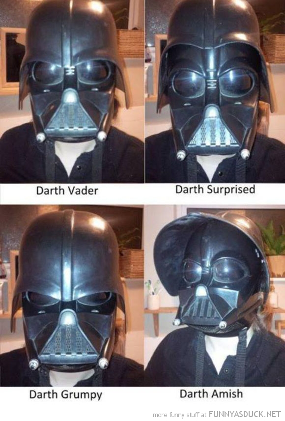 Many Sides Of Darth