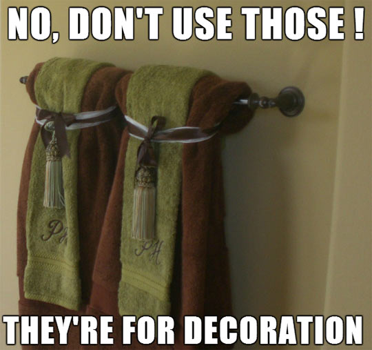 I Hate These Towels