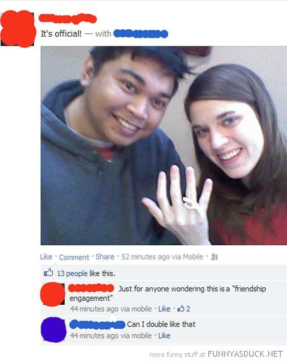 Friendship Engagement