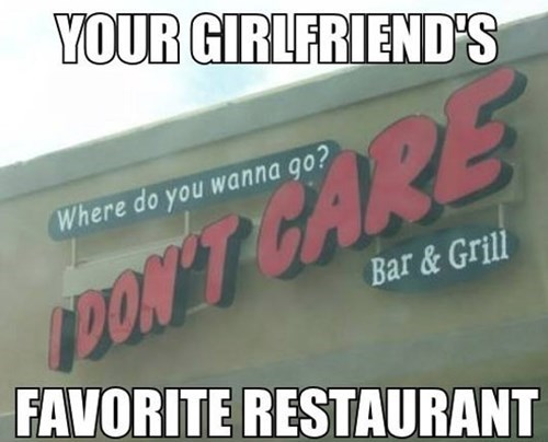 Where Will We Eat?