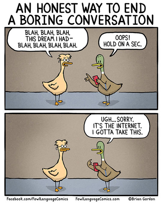 Boring Conversation