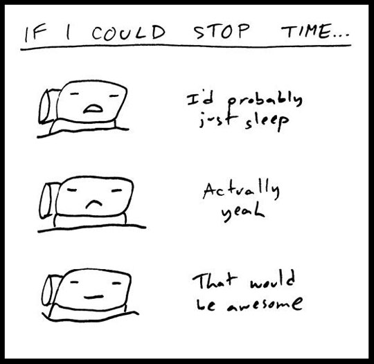 If I Could Stop Time
