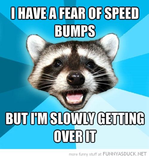 Fear Of Speed Bumps