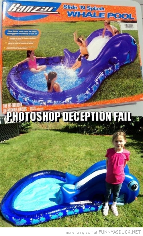 Photoshop Deception Fail