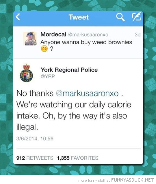 Police On Twitter