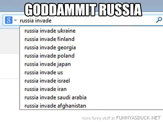 Enough Already Russia