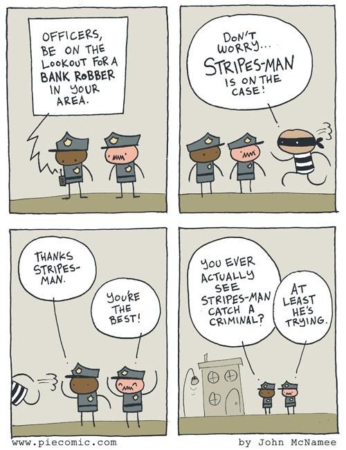 Stripes Man
