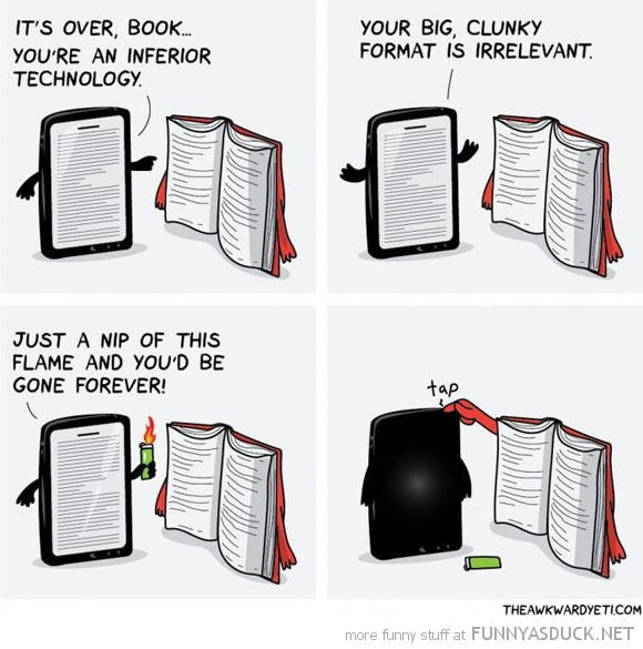 Tablets Vs Books