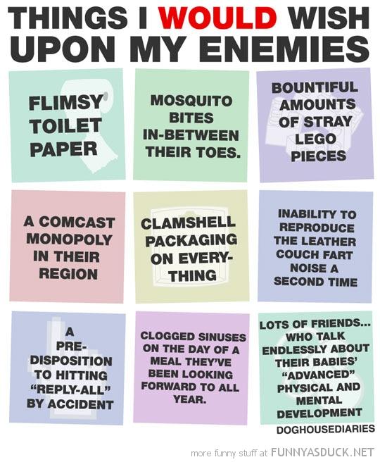 Wish Upon My Enemies