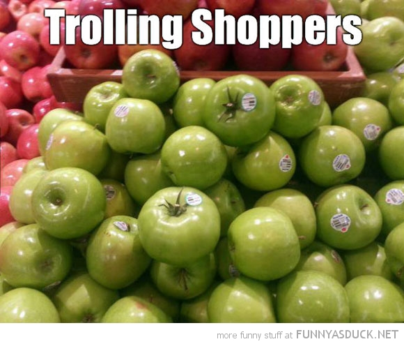 Trolling Shoppers